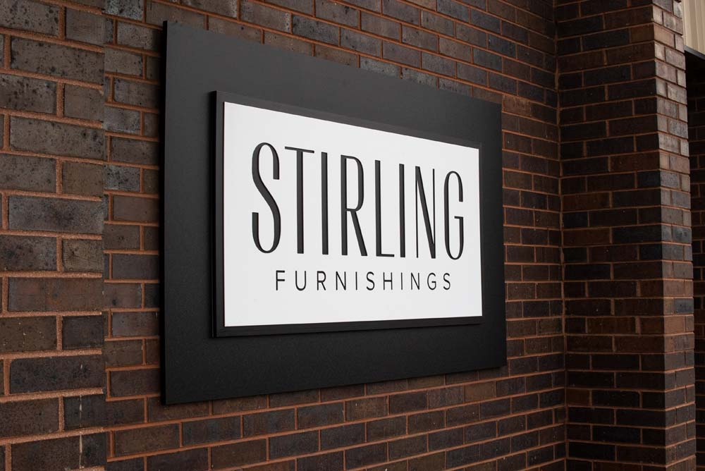 Stirling Furnishings Sign